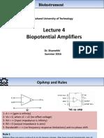 Bioinstrument 4 (BioAmplifiers)