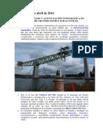 Control Topografico Puentes