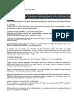 Resumen Derecho Constitucional Colombiano