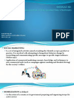 Module 4d Developing Social Marketing Strategies-mmghuang