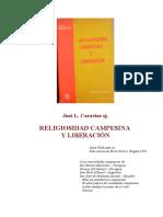 Caravias Religiosidad Campesina y Liberacion