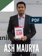 Entrevista Ash Maurya