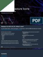 AWS Architecture Icons Deck for Dark BG 20190729