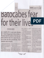 Manila Times, Sept. 3, 2019, Batocabes fear for their lives.pdf