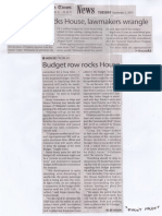 Manila Times, Sept. 3, 2019, Budget row rocks House, lawmakers wrangle.pdf
