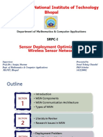 Sensor Deployment Optimization in Wireless Sensor Networks