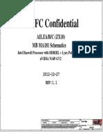 z510 z410 Compal Nm-A181 r1.1 Schematics