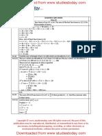 CBSE Class 11 Mathematics Worksheet - Sequences and Series (6)