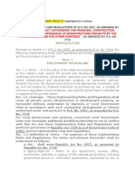 Irr of Ra 6957 Unsolicited Proposals