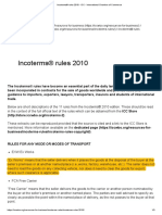 Incoterms® rules 2010 - ICC - International Chamber of Commerce