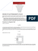 Electrical Machines - Electromagnetics Review