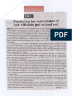 Tempo, Sept. 3, 2019, Providing for succession if our officials get  wiped out.pdf