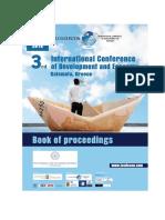 3RD ICODECON Book Proceedings