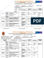 Ficha de Sesion de Aprendizaje Instrumento 1