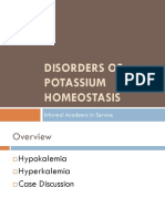 Fri24dec201035341pm -Disorders of Potassium Homeostasis