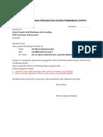 Surat Permohonan Penggantian Dosen Pembimbing 1 1