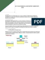 Subiecte Examen Esm Nanotehnologii Pentru Medicină