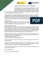 37. Nota Informativa Assignació Hores Adicionals Pam Primària - Fons Social Europeu