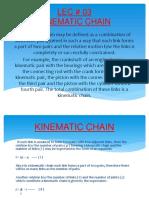 Mechanics of Machines LEC # 03