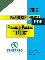 Plan de Contingencia Italos