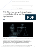 Will AI Replace Lawyers_ Assessing the Potential of Artificial Intelligence in Legal Services