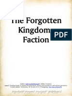 War of the Ring - Add-On - The Forgotten Kingdoms Faction