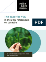 The Case for Yes in the 2020 Cannabis Referendum