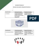 Evidencia 2- Valoracion Documental y Disposicion Fianal de Los Documentos