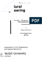 Seismic Response of Guyed Telecommunication Towers Literature Review