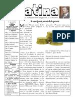 Datina - 3.09.2019 - prima pagină