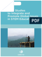 Integrate and Promote Global Issues in STEM Education