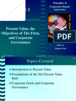Chp002. Present Value, the Objectives of The Firm,.ppt