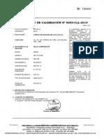 Rel-001 Certificado de Calibracion Reloj Comparador