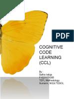 Cognitive Code Learning Tefl Safira Istiqa 2