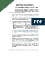 Procedure for Student Verification (1)