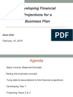 BYOBB Business Plan Financial Projections