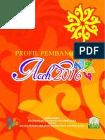 Profil Pembangunan Aceh 2016_(Bagian 1)