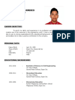 Rhon Resume