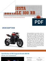 Mv Agusta Brutale 800 Rr