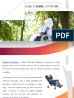 How to Choose an Electric Lift Chair