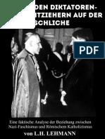 Hinter den Diktatoren - Den Drahtziehern auf der Schliche von  Leo Herbert Lehmann