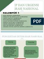 Konsep Ungensi Integrasi Nasional PPT