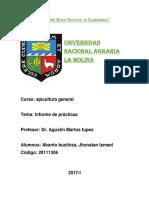 Informe de Apicultura