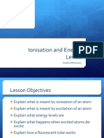 Ionisation and Energy Levels