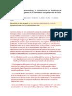 El Origen de Los Amerindios y La Población de Las Américas de Acuerdo Con Los Genes HLA Arnaiz 2010