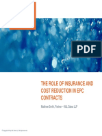 Insurance in EPC Contracts-K&L Gates