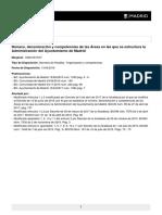 Ley Áreas de Gobierno Madrid