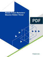 Mobile Fraud Marketers Massive Hidden Threat Forrester Study