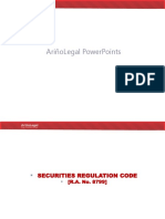 ArinoLegal PowerPoints Securities Regulation Ver2019Aug03