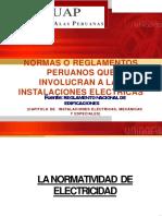 NORMAS QUE INVOLUCRAN A LAS INSTALACONES ELECTRICAS.pptx